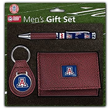 NCAA Licensed Pebble cartera llavero bolígrafo Set de regalo ...