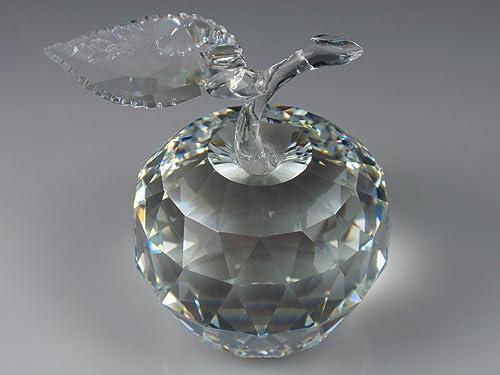 Swarovski Clear Crystal Figurine Fruit APPLE 160796 Perfect