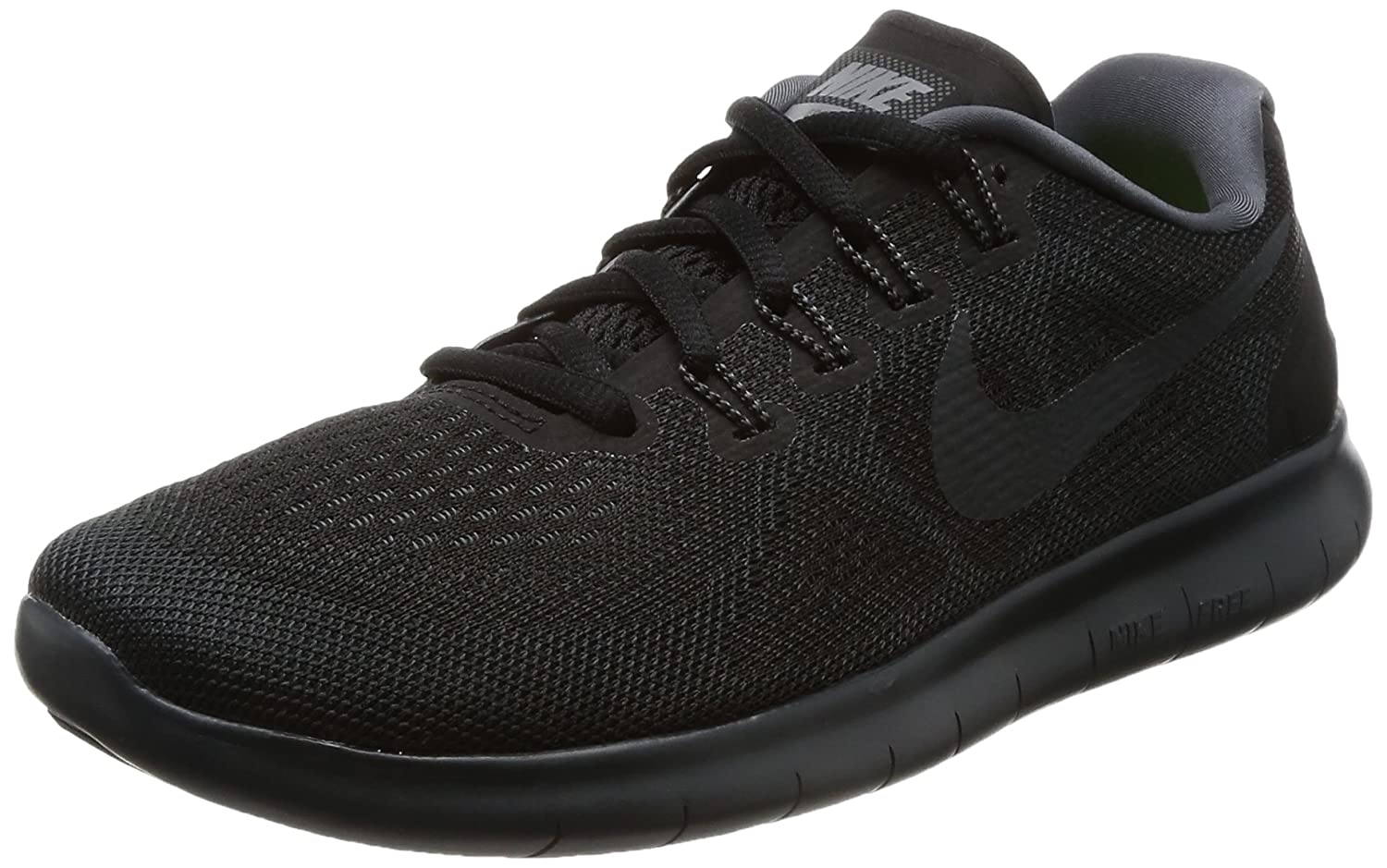NIKE Women's Free RN 2017 Running Shoe B01K0NR6S0 6.5 B(M) US|Black/Anthracite Dark Grey