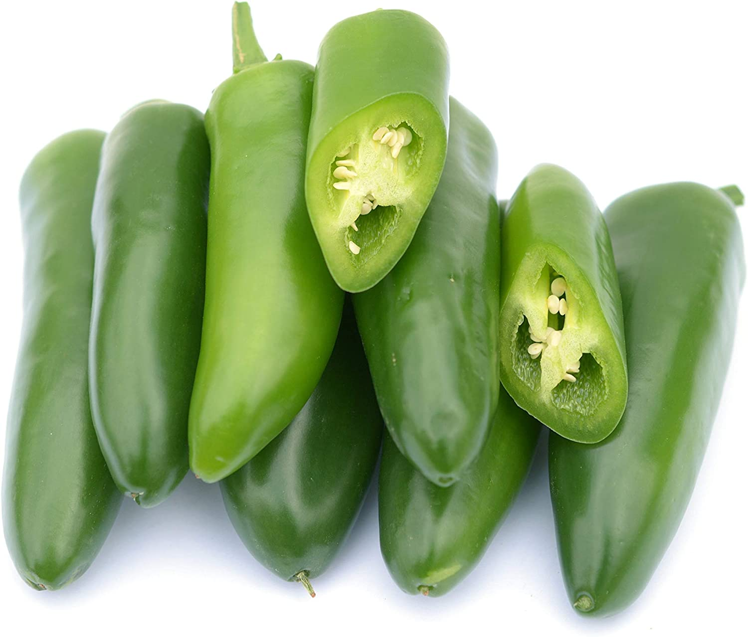 Jalepeno Tam Hot Peppers Seeds, 150 Heirloom Seeds Per Packet, Non GMO Seeds