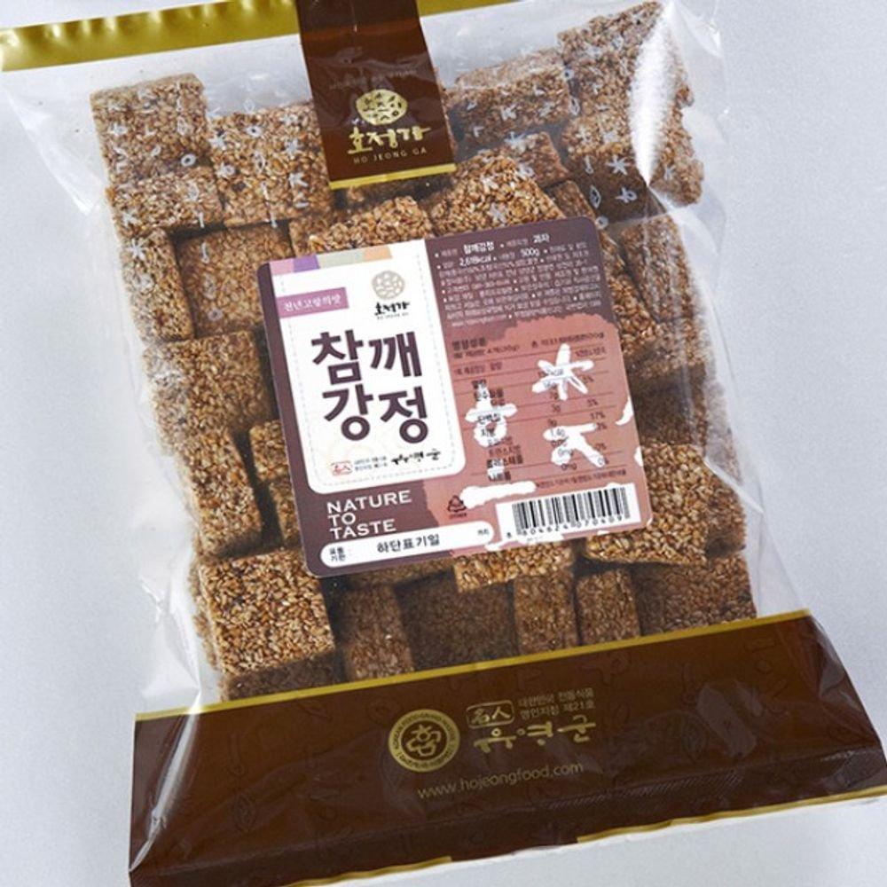 Changpyeong Sesame Crunch Snack (500G)