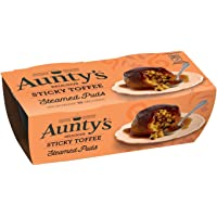 Aunty's Steamed Sticky Toffee Puddings - 2 x 110g