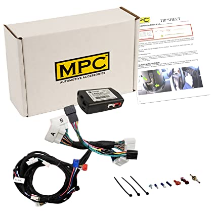 amazon com mpc complete plug n play remote start kit for 2012 2017amazon com mpc complete plug n play remote start kit for 2012 2017 toyota camry hybrid includes bypass uses factory remotes automotive