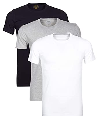 7cf4ee246f3d71 Polo Ralph Lauren 3er Pack Herren T-Shirts