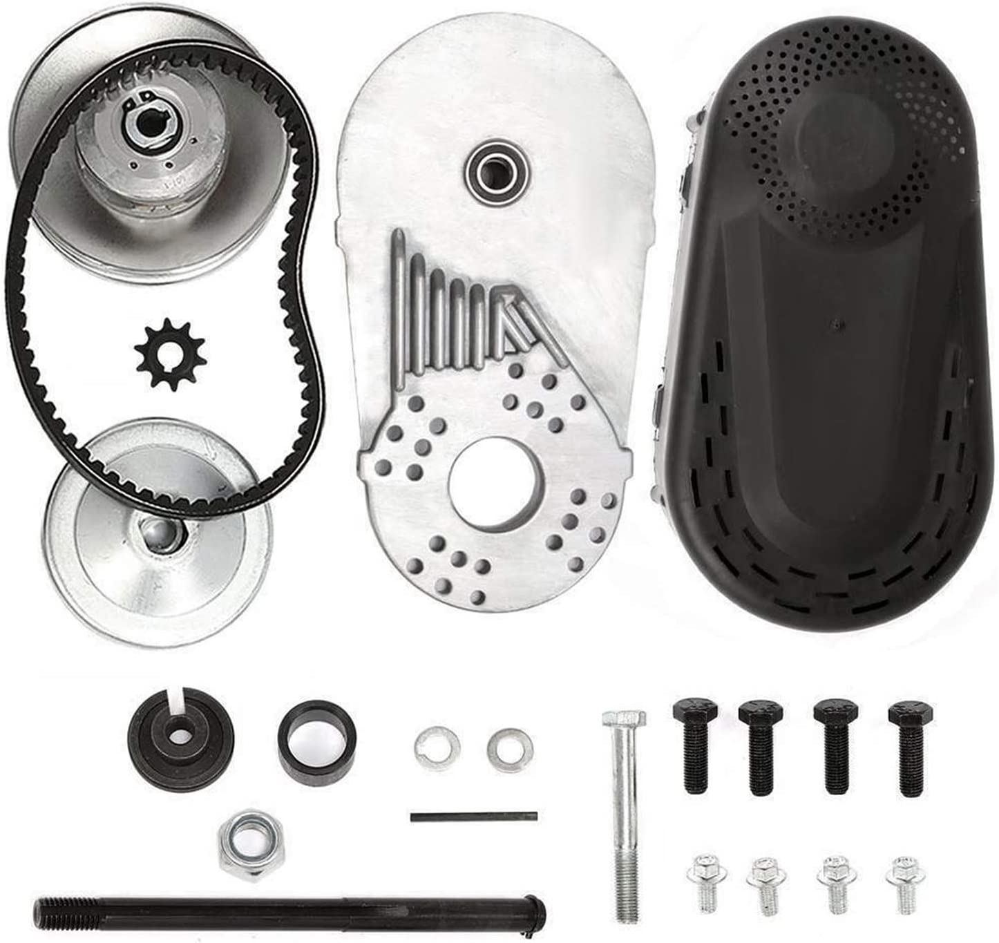 """MotorFansClub Torque Converter Kit 212cc Go Kart Clutch 3//4/"""" 10T 40//41 and 12T 35 Chain Drive Belt Pulley Fit for Compatible with Manco Comet TAV2 Mini Bike 30 Series"""