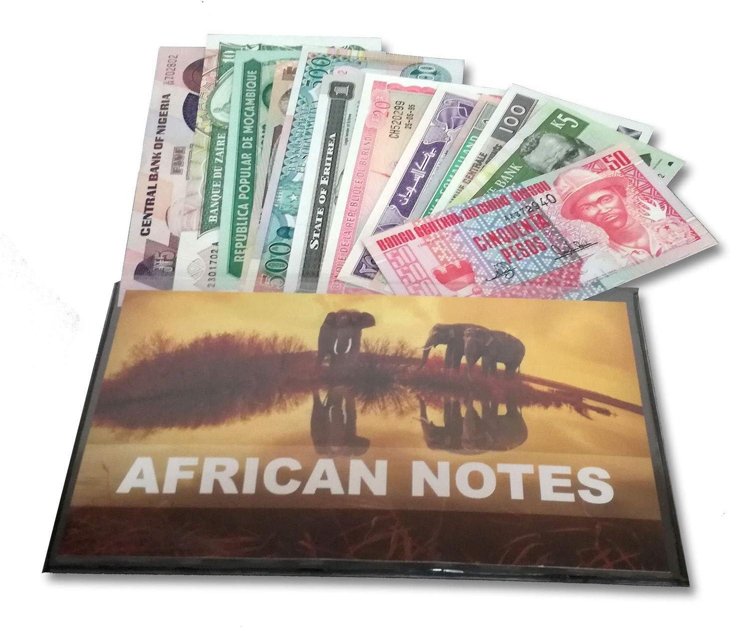 IMPACTO COLECCIONABLES Billetes del Mundo - Colección de Billetes - 12 Billetes Diferentes de África: Amazon.es: Juguetes y juegos