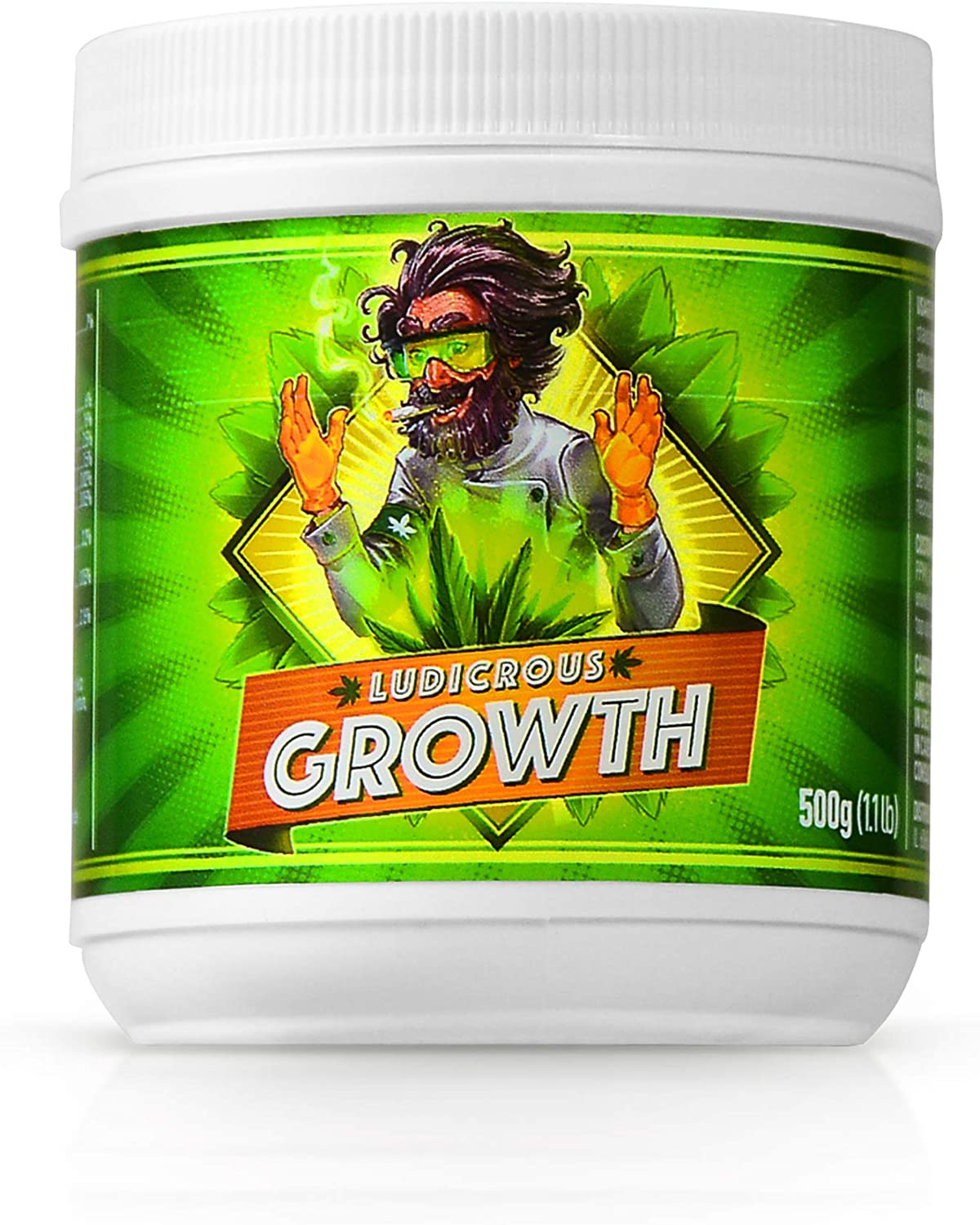 Ludicrous Nutrients Growth Bloom Roots Boost Fertilizer Collection for Radically Enhanced Growth and Yields During All Stages for use in Hydroponic and or Soil (Growth, 500)
