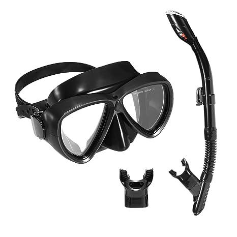 e40f7de7f447 Amazon.com   Scuba Diving Mask Snorkel Set