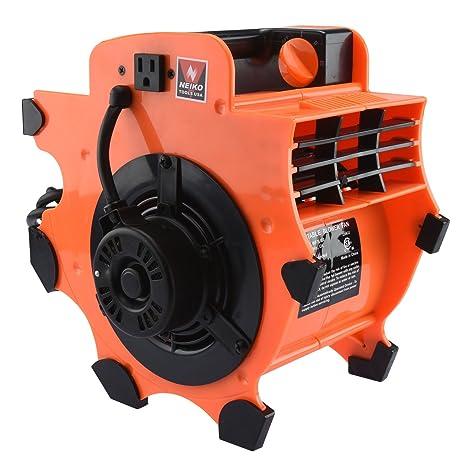 Industrial Motor Air | Ventilador Blower secador de alfombra para suelo portátil ligero