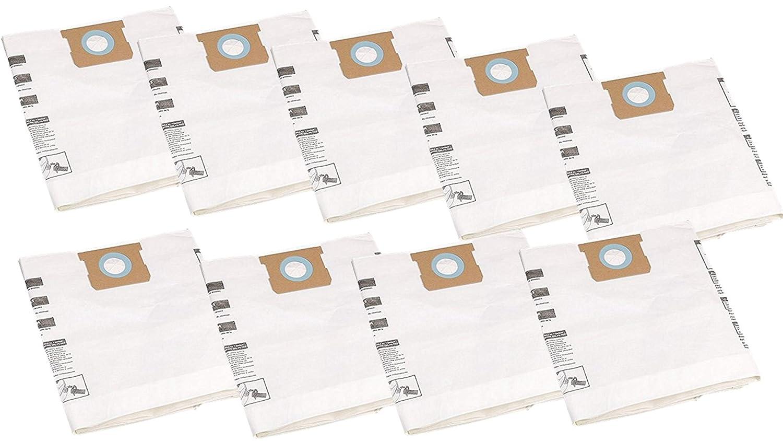 Shop-Vac 9066200 10-14 Gallon Disposable Collection Filter Bag, 9 Filters  Bag Total
