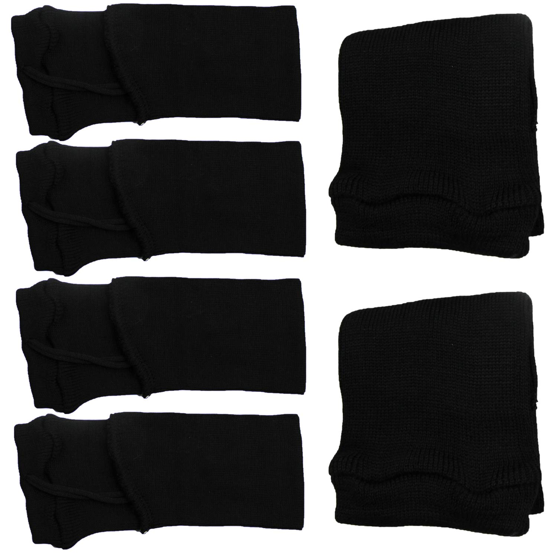 "2 Black Silicone Treated 14/"" Inch Pistol Sock Handgun Sleeve Gun Storage Bag"