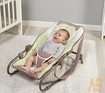 Support Prevent Anti Roll Baby Memory Foam Pillow Flat Head Neck Newborn 23cm