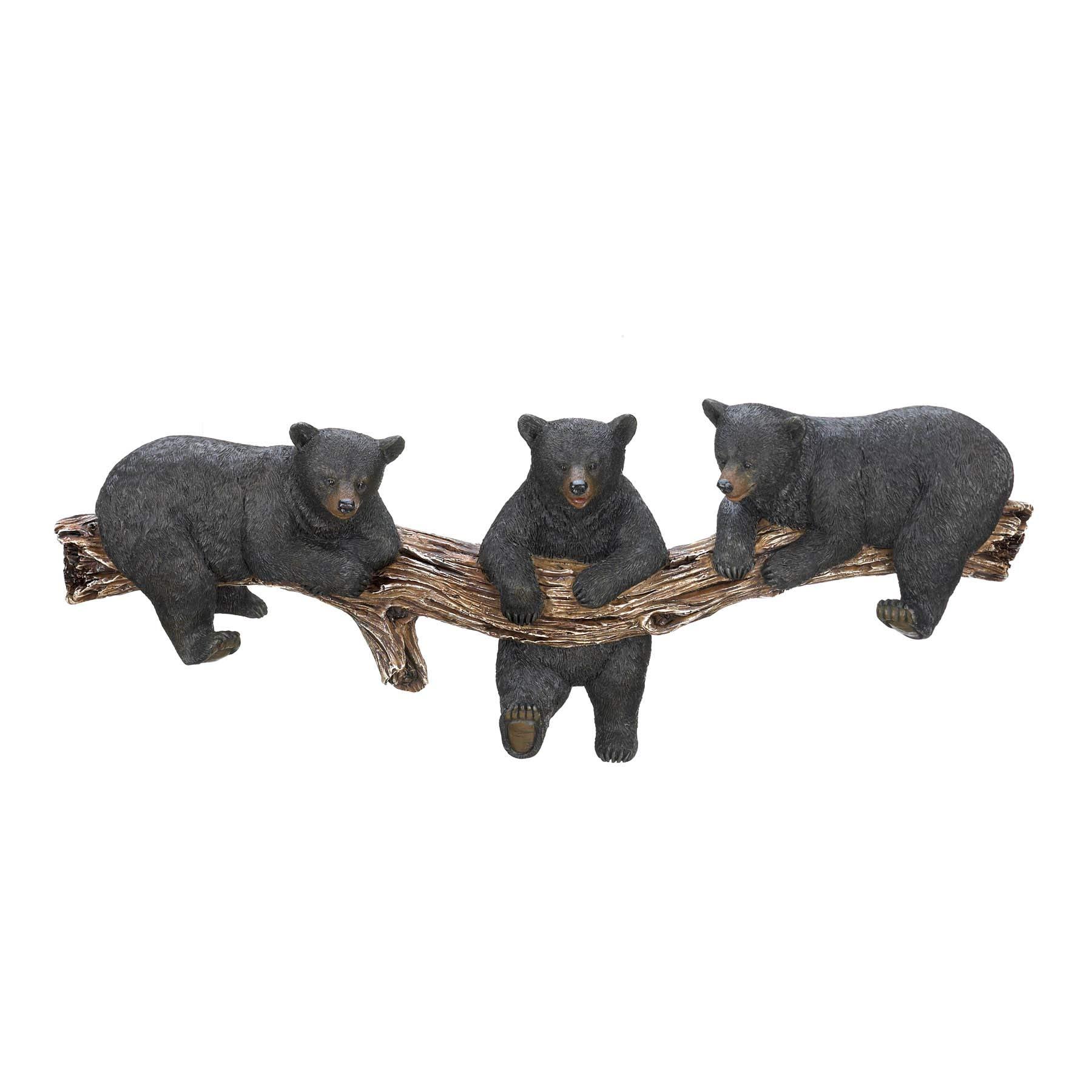 Home Locomotion Black Bear Trio Hooks