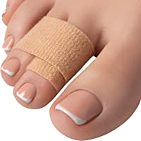 Hammer Toe Straightener Corrector Splint - 4 Broken Toe Wraps, Brace Orthopedic Separator, Cushioned Bandages, Heal Wrap…