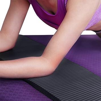 Amazon.com: HDE - Rodillera de yoga antideslizante de 0.591 ...