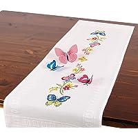 Kit de bordado mariposas, juego completo de camino
