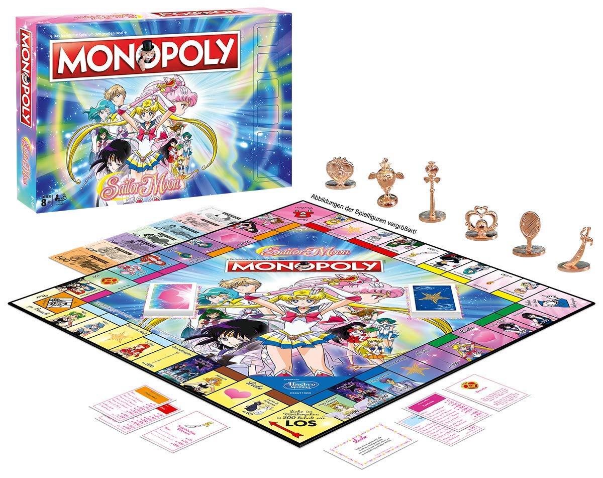 Monopoly Sailor Moon: Amazon.es: Winning, Moves: Libros en idiomas extranjeros