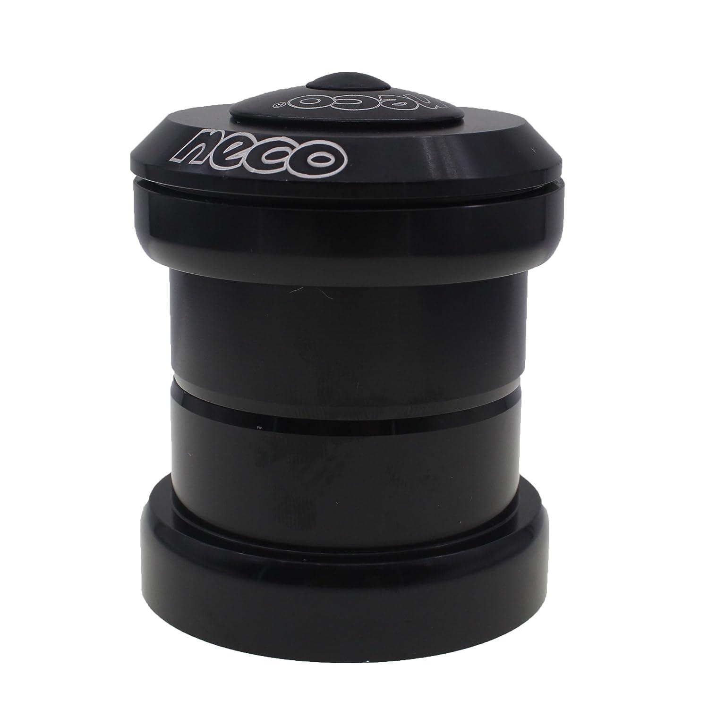 "Black neco 1-1//4/"" Head Tube Reduced To 1-1//8 Fork Tube Threadless Headset"