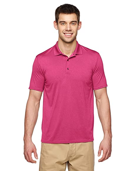 8c1d7159608 Image Unavailable. Image not available for. Color: Gildan Performance Adult  Jersey Polo 44800 ...