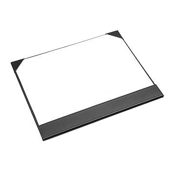 Osco BKPUDM3 A3-Schreibtischunterlage aus Kunstleder schwarz