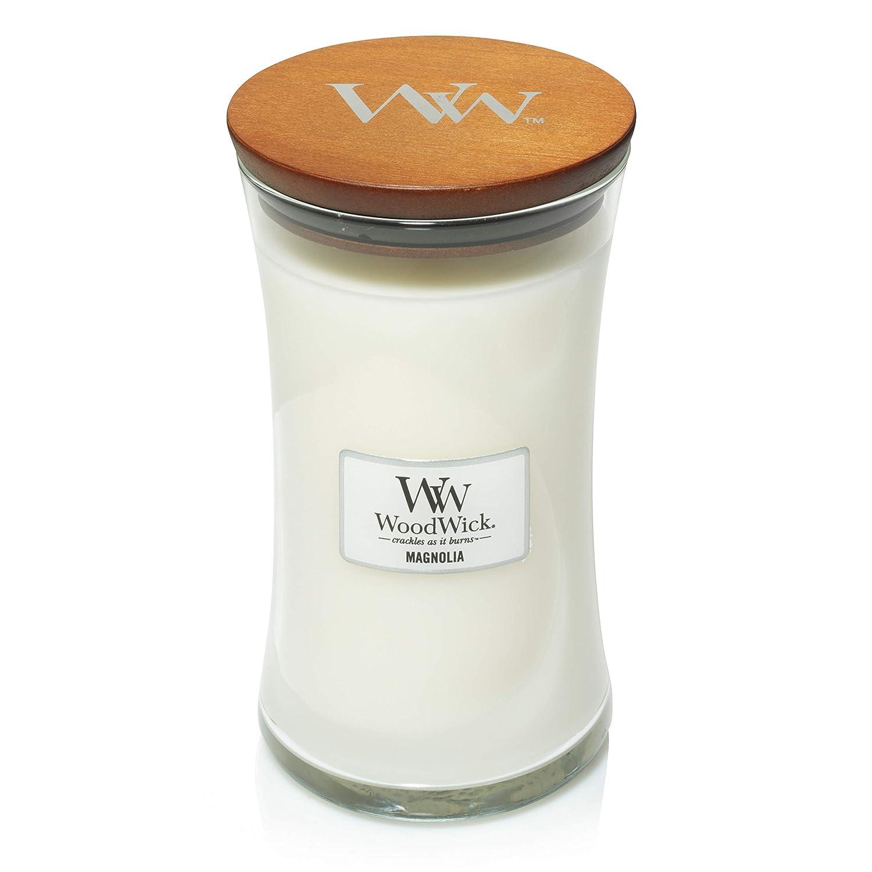 【保障できる】 MAGNOLIA WoodWick 650ml Large Hourglass Jar Candle Burns Large Candle Burns 180 Hours B07DHN5K6Y, LALAHONEY:6fb61d0f --- a0267596.xsph.ru