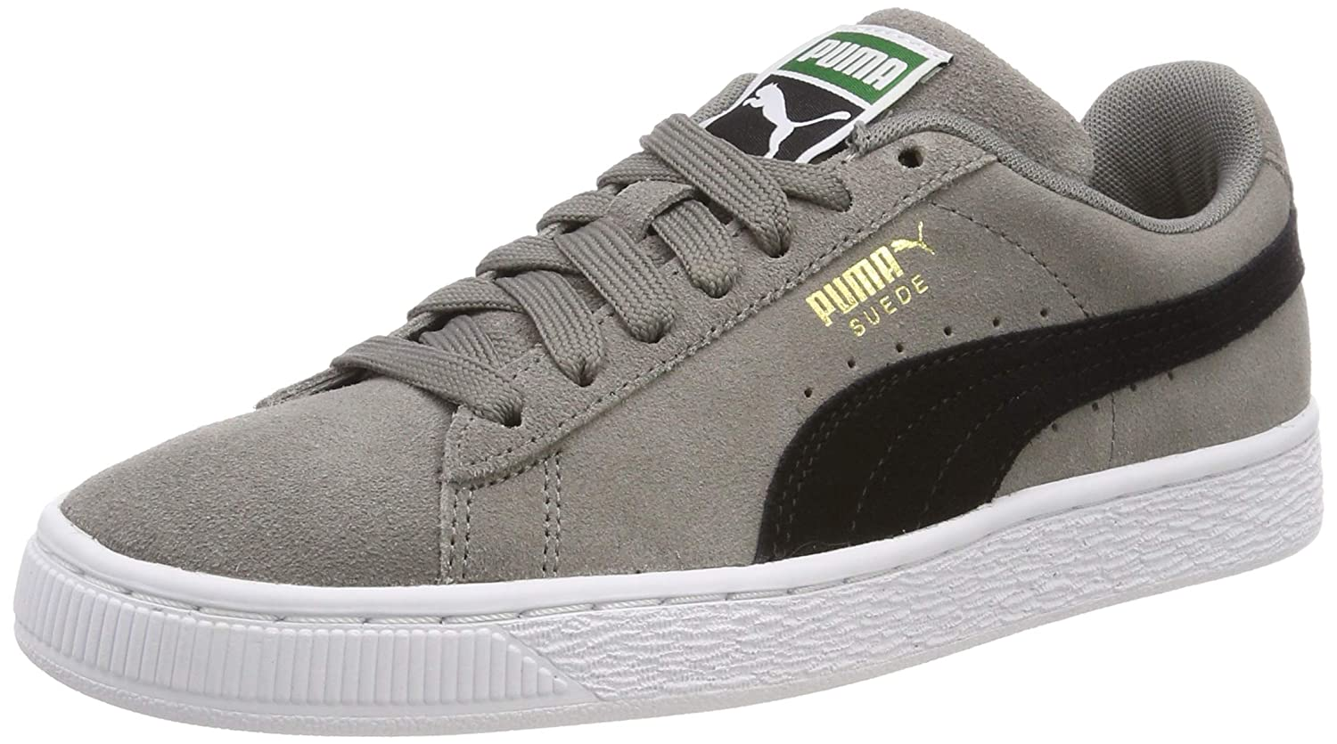 best service acf30 35470 Amazon.com   Puma Unisex Adults  Suede Classic Low-Top Sneakers, Grey (Charcoal  Gray-Puma Black 54), 8.5 UK   Fashion Sneakers