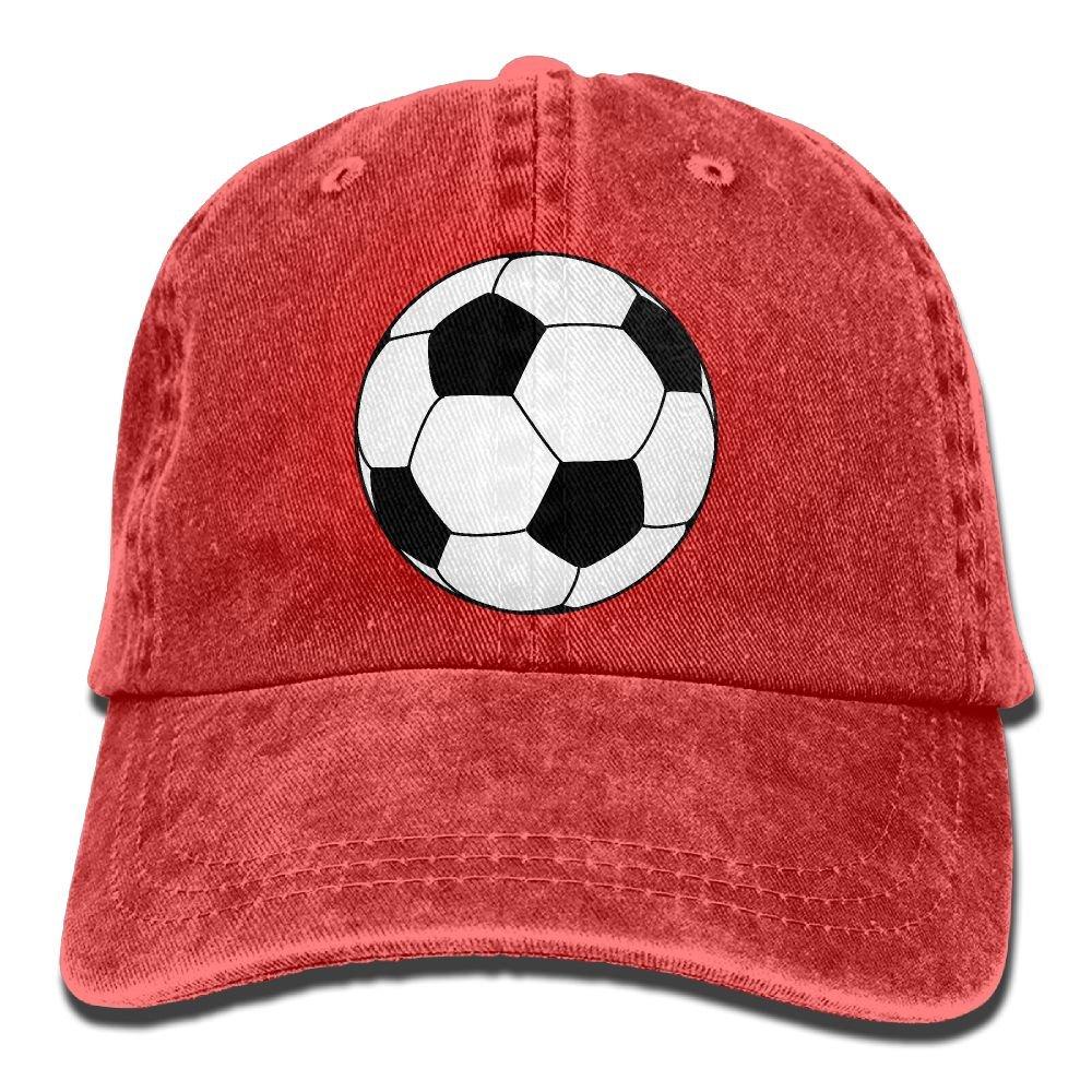Football Trend Printing Cowboy Hat Fashion Baseball Cap For Men and Women Black