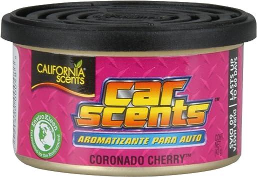 California Scents CCS-407TR Ambientador para Coche, Oficina y hogar, Olor a Cereza, 1 Unidad - Amazon.es