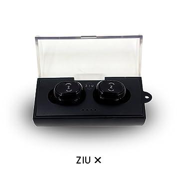 Ziu Smart Items X - Auriculares inalámbricos Bluetooth, Color Negro: Amazon.es: Electrónica