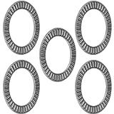 uxcell NTA2435 Thrust Needle Roller Bearings 1-1/2' Bore 2-3/16' OD 5/64' Width 5pcs
