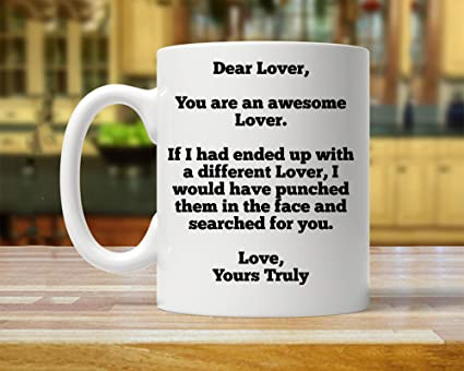 Gift For Lover Personalized Mug Birthday Funny