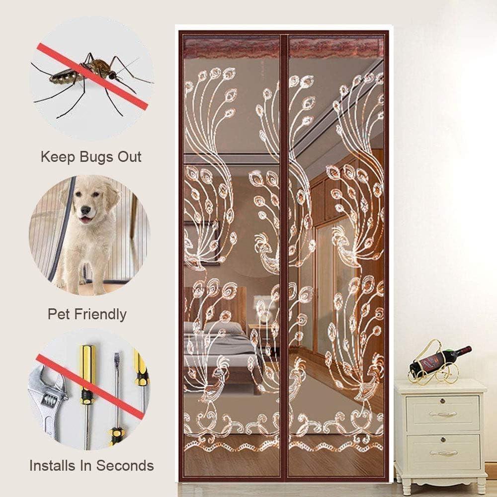 Mosquito puerta mosquitera protección de insectos cortina ...