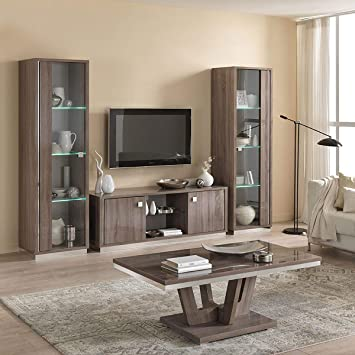 meilleur site web 8db63 e597d AltoBuy Varsha - Ensemble Salon Table Basse + Meuble TV + ...