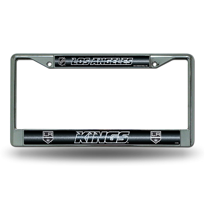 Rico Industries NHL Glitter Bling Chrome Plate Frame