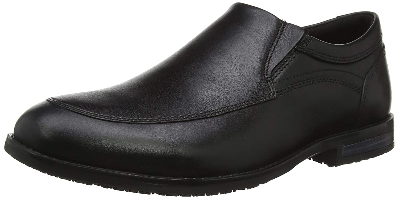 TALLA 44.5 EU. Rockport Dustyn Slipon Shoe, Mocasines para Hombre