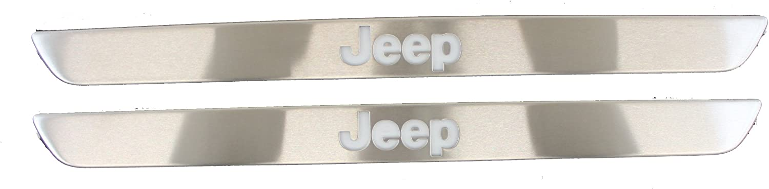 Genuine Jeep Accessories 82212120 Door Sill Guard with Illuminated Jeep Logo