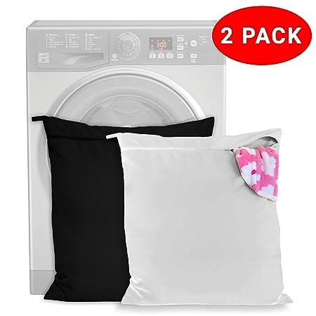 Pack de 2 Bolsa de Lavandería Mascotas - mantenga su lavadora ...