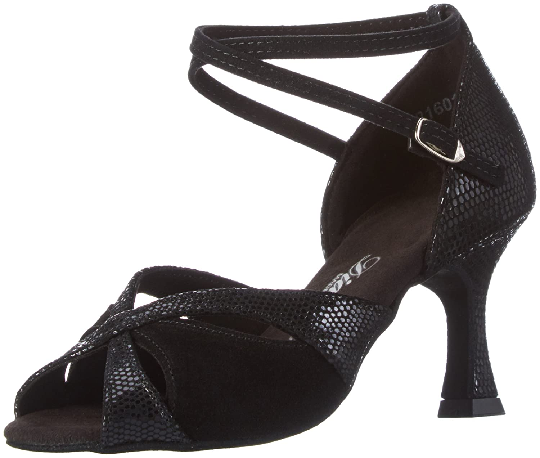 Noir Diahommet femmes Tanzchaussures 141-087-084, Chaussures de Danse de Salon Femme 38 EU