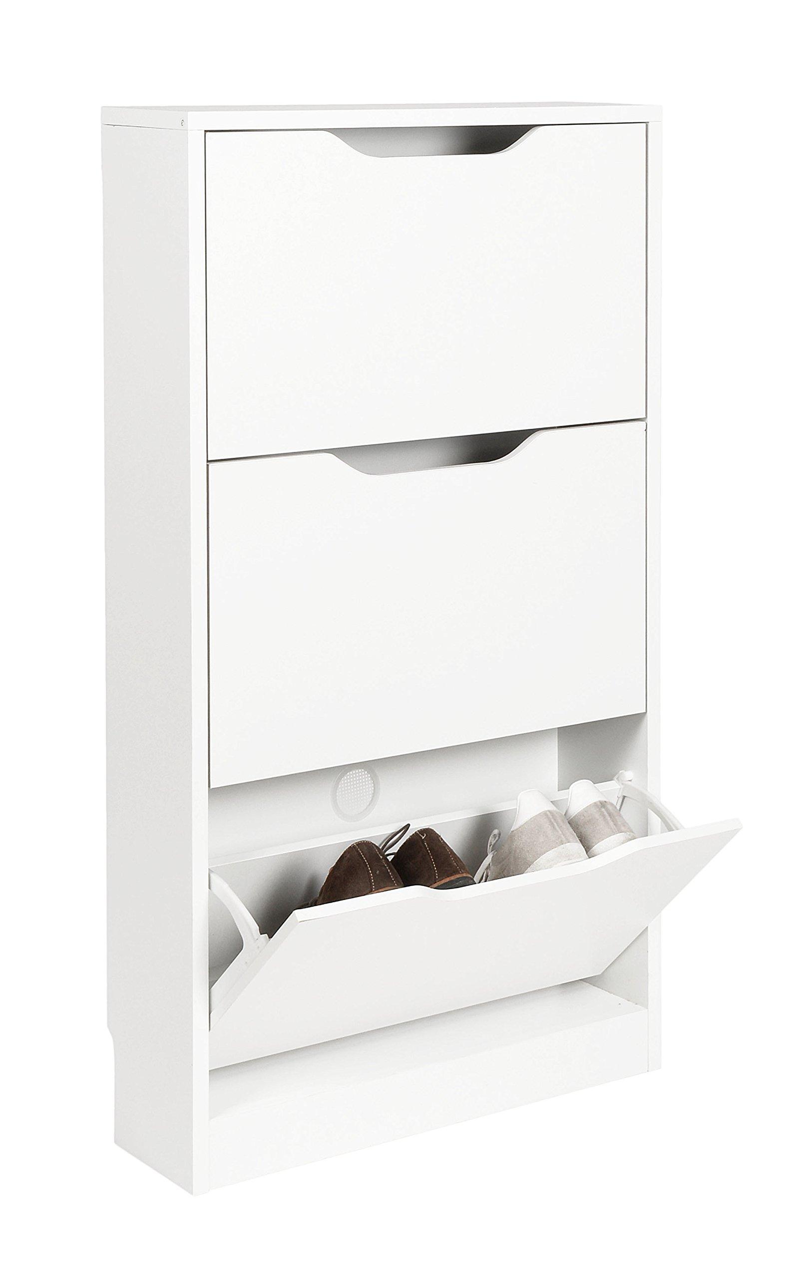 Meuble Sous Vasque Salle De Bain Mr Bricolage ~ Meuble Chaussure Blanc Amazon Fr