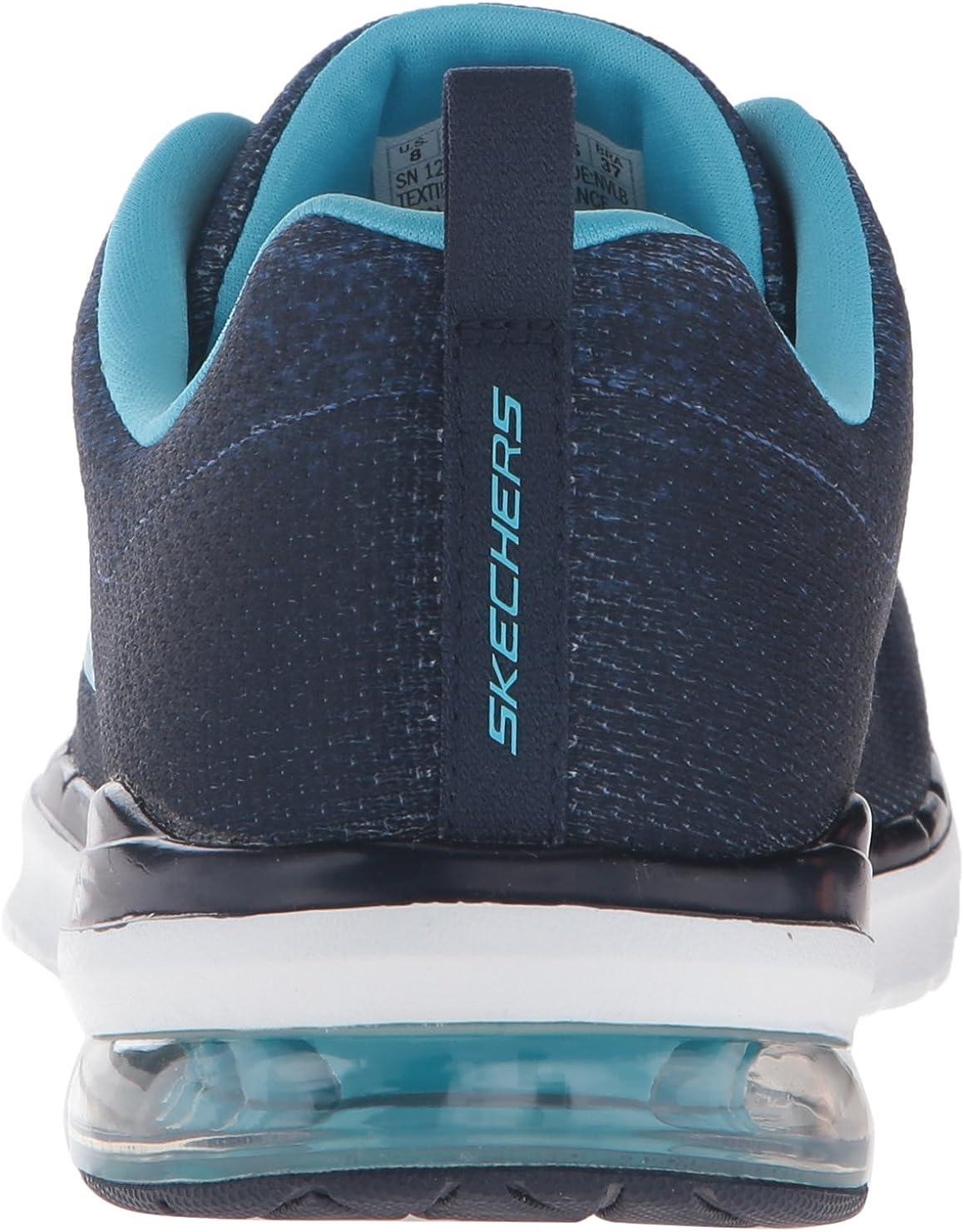 Skechers Sport Women's Skech Air Infinity Fashion Sneaker Navy/Light Blue