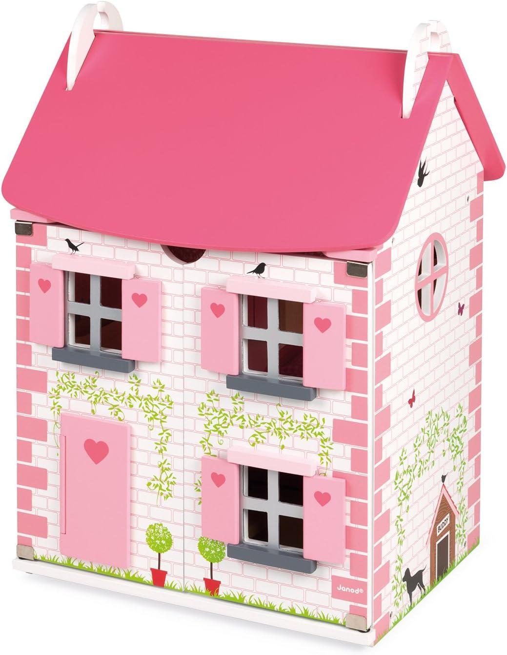 Janod J06581 Mademoiselle Dolls House Game