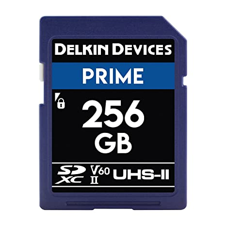Delkin Devices 256 GB Prime SDXC 1900 x UHS-II U3 Tarjeta de ...