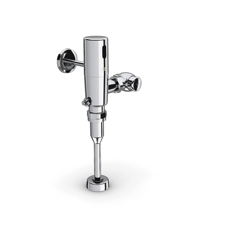 Zurn ZTR6203-ULF-HW Commercial Brass 0.125 gpf Sensor Operated Urinal Flush Valve Hardwired Exposed Chrome Plated Flushometer 0.125 gal per Flush