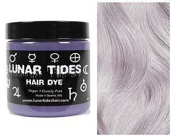 Lunar Tides Hair Dye - Lunar White Toner Semi-Permanent Vegan Hair Color (4 fl oz / 118 ml)