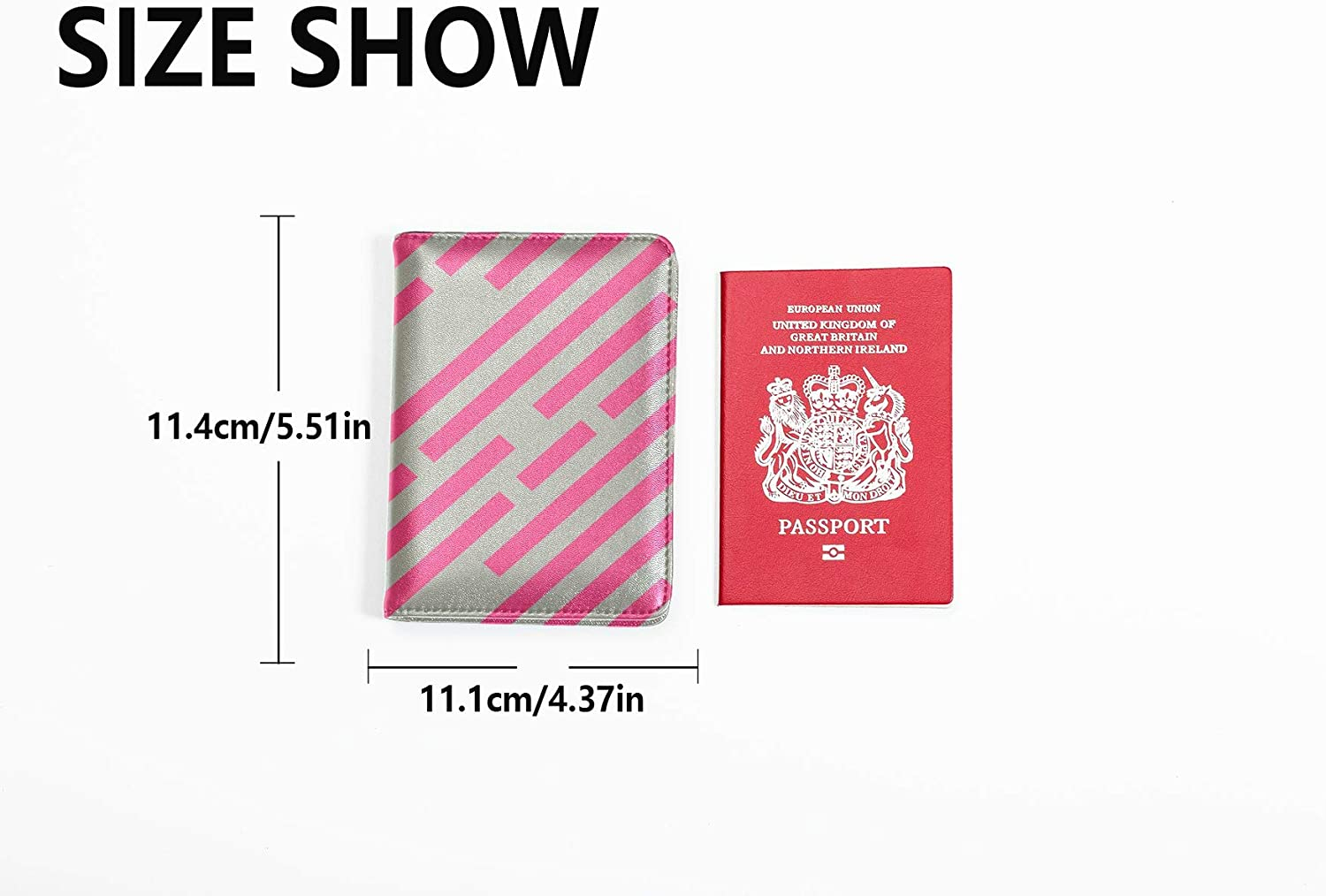 Personalized Passport Holder Case Fashion Creative Household Towel Passport Holder Cover Pack Multi Purpose Print Passport Holder Cover For Men Travel Wallets For Unisex 5.51x4.37 Inch