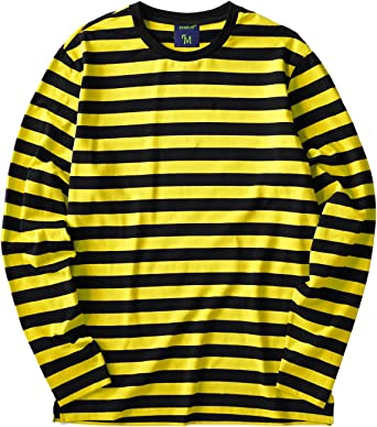 Mens Long Sleeve Solid Round Neck Plus Size Side Split Sweatshirt