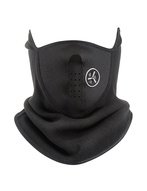 MinYuocom Anti Dust Motorcycle Bicycle Cycling Mask Carbon Cloth Bike Ski Half Face Mask MZS8677