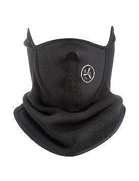MinYuocom Pasamontañas Moto Antipolucion Mascara Facial Motorista Antipolvo MZS8677B