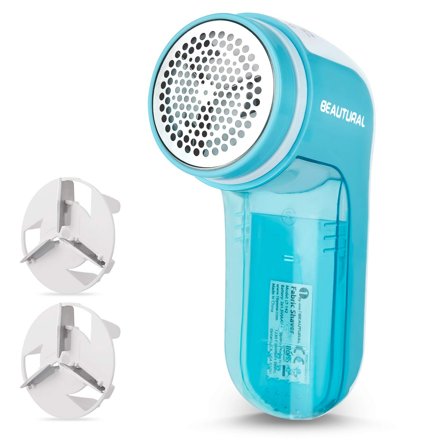 Beautural Fabric Shaver & Lint Remover Battery Operated