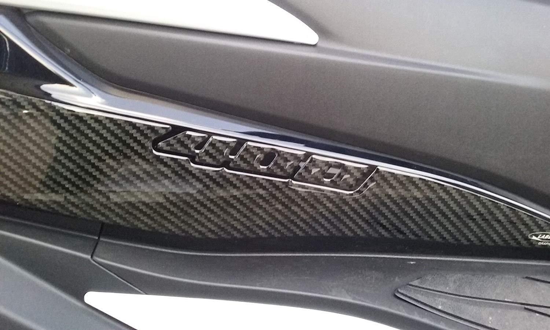 2 Protections Gel 3D Pieds Passager Compatible pour Suzuki Burgman 400 Partir 2017